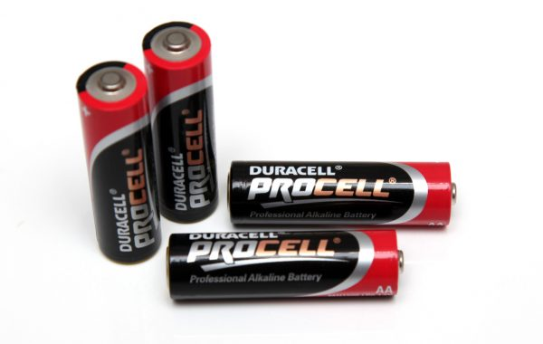 Duracell procell AA 1.5 volts  MN1500 LR6