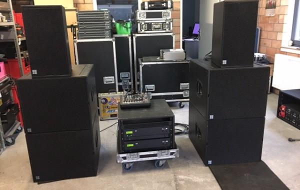 d&b audio Q7 set   plug&play  good condition