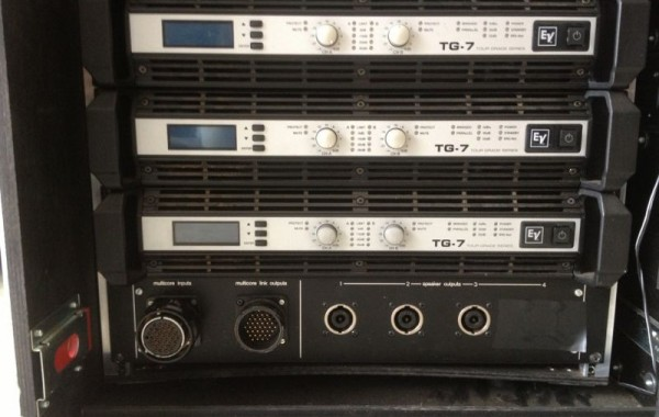 Electro Voice TG-7 amp