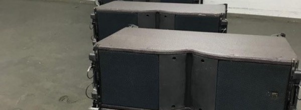 24 pieces L-Acoustics Kara + 8 flightcase