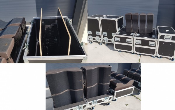 L-Acoustics Kiva line array set top condition