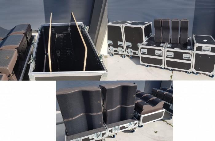 L-Acoustics Kiva line array set top condition
