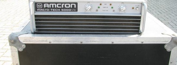 Crown Macrotech 5000VZ 2x2500watt/2ohm