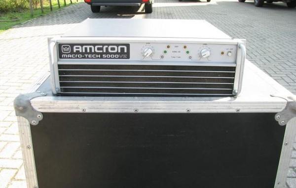 Crown Macrotech 5000VZ 2x2500watt/2ohm