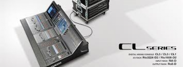 Yamaha CL5 flightcase + 2 RIO3224D